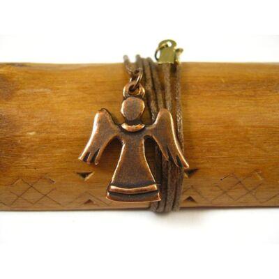 Röppenő angyal - medál - kézműves ékszer