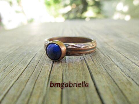 Lápisz - egyedi vörösréz gyűrű
